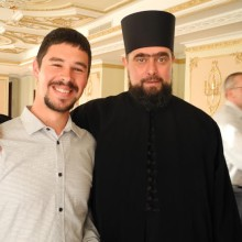 Ђакон Ненад М. Јовановић и ја, хотел Москва, Београд 20.06.2014.